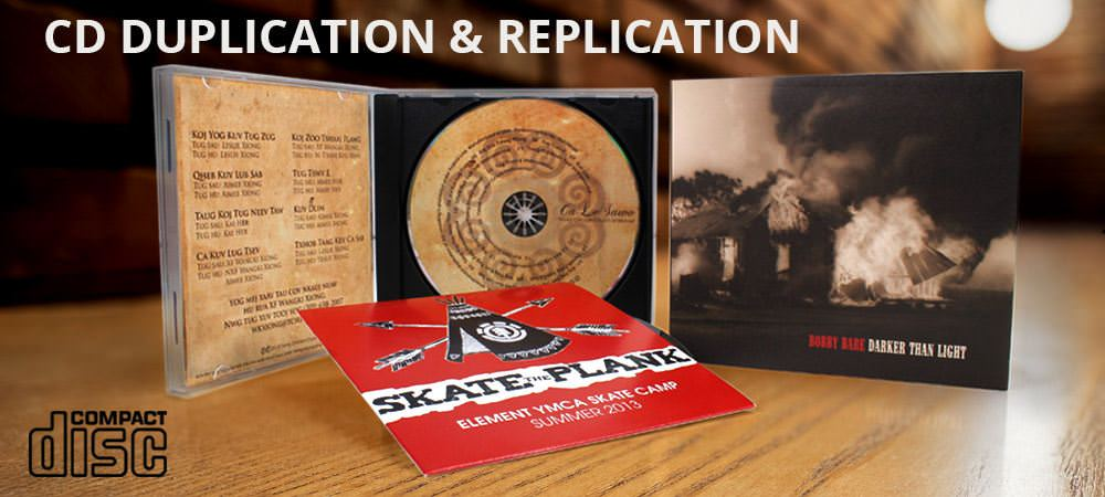 CD Duplication & CD Replication Service