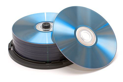 Short spindle of CDs