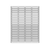 Return Address Labels Avery Compatible # 5167