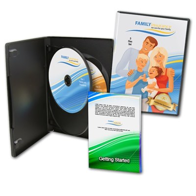 3 DVDs and Triple DVD Case w/ Entrapment and 8 Page Booklet
